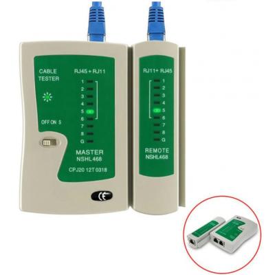 Сетевой, кабельный тестер NP-468N (RJ45/RJ12)