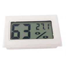 Термометр гигрометр цифровой, белый